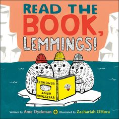 AME DYCKMAN:  HEY, YOU GUYS! Author Girl Ame Dyckman and Amazing Illustrator Zachariah OHora here, reporting from the icy Arctic CLIFF in ...