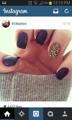 Black gold cheetah