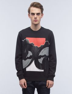 Shop DIESEL BLACK GOLD Sal-waves Sweatshirt at HBX. Free Worldwide Shipping available.