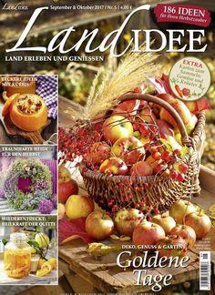 #Deko, Genuss und #Garten: Goldene Tage Jetzt in LandIdee: #herbst #autumn #apfel #apple #Rezept #handmade