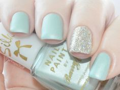 Manicure Monday   Barry M - Silk Nail Paint in Meadow