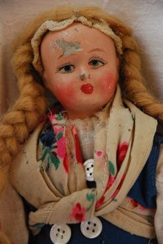 vintage doll from the 30's