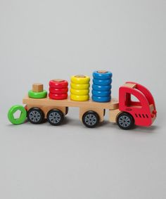 Take a look at this Sort 'N' Stack Truck Set by Discoveroo on #zulily today!