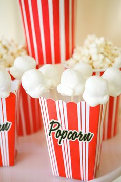 Popcorn cake pops – perfect for an Oscars bash!