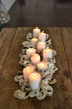 This week's inspiration station shows how you can use oyster shells in three different ways to add a touch of elegant whimsy, or rustic charm to any summer event. You can use oyster shells in their natural state, add some glam with an easy gilded DIY paint job, or use a mix of both! Not...