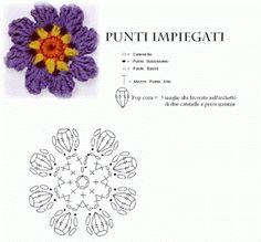 Intrecci Incantati: Fiorellini viola