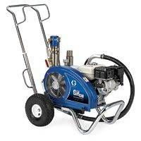 The Graco GH 130 Convertible 24W923 (Old# 253957) is the clear choice for entry level contractors who demand max power in a small package.With the ability to change out the pump lower and convert to electric power without tools, you can be assured that you have the most versatile sprayer on the market today.Ready to WorkIncludes everything you need to get spraying:Contractor GunRAC X 517 SwitchTip and Guard1/4 in x 50 ft. (6.4 mm x 15.2 m) BlueMax II Hose FEATURES:Exclusive hydraulic motor…