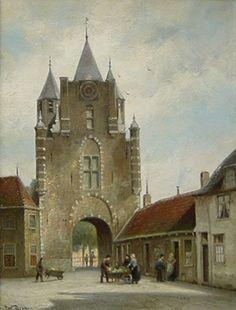 De Amsterdamse Poort te Haarlem