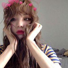 Korean Girl selca