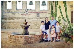San Juan Capistrano Family Portraits