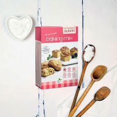 Sukrin Baking Mix -340gr. Tο Sukrin Baking Mix της Sukrin, είναι μείγμα ψησίματος που καθιστά εύκολο το να κάνετε γλυκές παρασκευές και επιδόρπια, χωρίς γλουτένη και χωρίς ζάχαρη. Απλά προσθέστε τα αγαπημένα σας αρώματα και αφήστε τη φαντασία σας να κάνει τα υπόλοιπα. Baking, Breakfast, Food, Morning Coffee, Bakken, Eten, Bread, Backen, Meals
