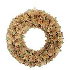 Curled Wood Wreath (21