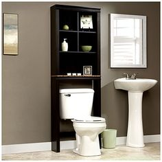 I like the shelf but I really like the sink. Sauder® Space Saver With Storage at Big Lots.