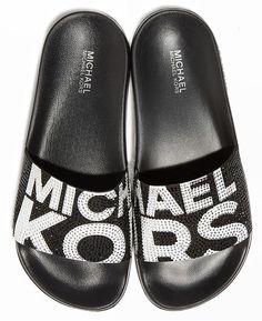 aca0bbf7d32b Michael Michael Kors Women s Gilmore Pool Slide Sandals - Pink 5M