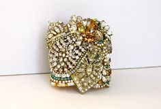 Doloris Petunia One of a Kind Custom Cuff Example on Etsy, $1,000.00