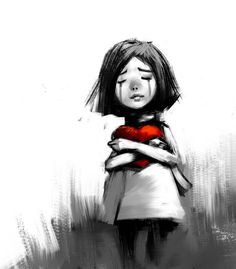 when kids are crying as it invalidates their feelings. Here are 11 alternative things you can try. Dark Art Drawings, Art Drawings Sketches, Easy Drawings, Gustav Klimt, Cry Drawing, Drawing For Kids, Image Triste, Crying Kids, Sad Child