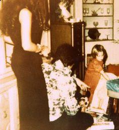 Elvis, Priscilla and Lisa Marie - Christmas at Graceland