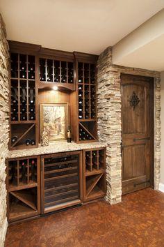wine storage.JPG - traditional - basement - minneapolis - by James Barton Design Build