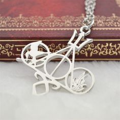 Hunger Games Harry Potter Percy Jackson all combined Necklace