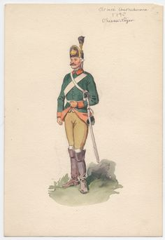 Austria; Officer Chevau-Legers 1796