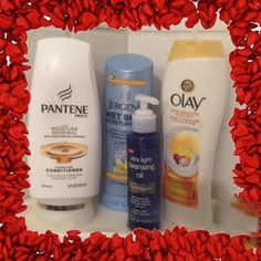 The only products I need in the shower! I love all of these!  @PanteneUS @jergnes @olay @neutrogena @glamourchicpeek #PopularizerContest