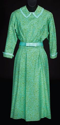 Maria's green dress from The Sound of Music, not the most special dress, but I love it, and I love the scene she wears it in!