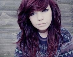 This color. *.* faded red burgandy hair