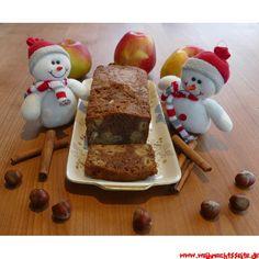 Weihnachtskuchen mit Äpfeln, Zimt und Nüssen Pudding, Desserts, Food, Bakken, Honey Cake, Food Food, Tailgate Desserts, Deserts, Custard Pudding
