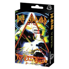 Def Leppard Earbuds - Every song sounds like the Rock of Ages on these high performance Def Leoppard Ear Buds. Keep on rockin.