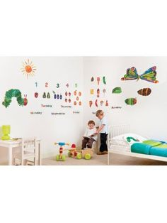 The Very Hungry Caterpillar Room Decor Kit - 49 Giant Wall Stickers, http://www.amazon.co.uk/dp/B003V9P56G/ref=cm_sw_r_pi_awd_azRysb0QSNKR8
