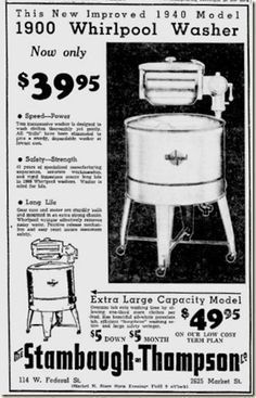 Random Acts of Vintage: Doing the Laundry Vintage Style