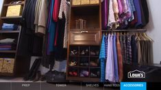 Watch how to install a wood closet organizer or shelving yourself for a simple storage solution in your closet.