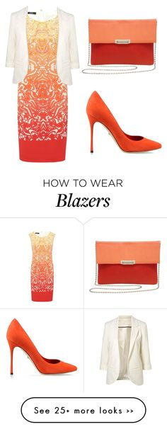 """""""ombre dress"""" by tania-alves on Polyvore"""