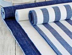 Get nautical with these table runners from Nordic House
