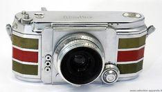 1952 French made Alsaphot Alsaflex 24x24mm SLR camera. #vintagecameras