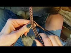 Коса из восьми трубочек - YouTube