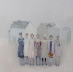 Magical Paintings by Kristin Vestgård Figure Painting, Painting & Drawing, Art Gallery Uk, Magical Paintings, Figurative Art, Love Art, Painting Inspiration, Modern Art, Contemporary Art
