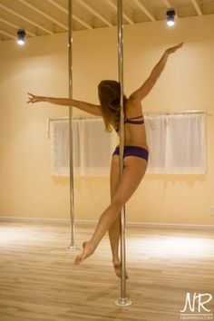 """""""Pole Fit by Bad Kitty"""" Selfie Shoot @ ninareed.com"""