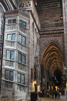 Lorenzkirche Nürnberg Nuremberg Germany Alemania Deutschland