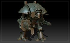 Warhammer 40K imperial knight WIP