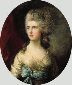 Title: Portrait of Lady Anna Horatia Waldegrave, c.1783  Artist: Thomas Gainsborough  Medium: Hand-Painted Art Reproduction