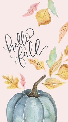 Hello autumn as lettering : Backgrounds Wallpaper Cute Fall Wallpaper, Wallpaper Free, Holiday Wallpaper, Trendy Wallpaper, Pattern Wallpaper, Wallpaper Quotes, Cute Wallpapers, Autumn Phone Wallpaper, Fall Wallpaper Tumblr