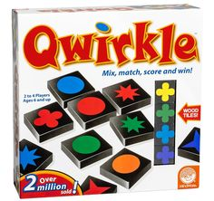 Amazon.com: Qwirkle Board Game: Mindware: Toys & Games