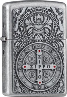 ZIPPO MEDAL OF ZIPPO ANTIQUE SILVER DOUBLE EMBLEM 3D LIGHTER IN FRAME BOX >>> Click image to review more details.-It is an affiliate link to Amazon. #FireplacesAccessories