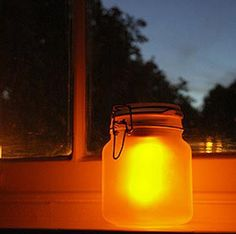 The solar sun jar is beautiful on deck while anchored at night & saves the generator