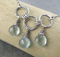 Aquamarine drops