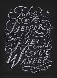 More great typography & lettering designs | From up North