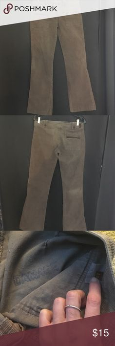 7 for all man mind pants; sz 28; brown corduroy 31 inseam. Small hole below zipper but is easily fixed. Can't see without really looking. They have a slight flare bottom 7 For All Mankind Pants Boot Cut & Flare