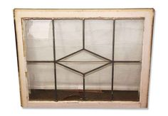 Leaded Glass Window from a Tudor Home
