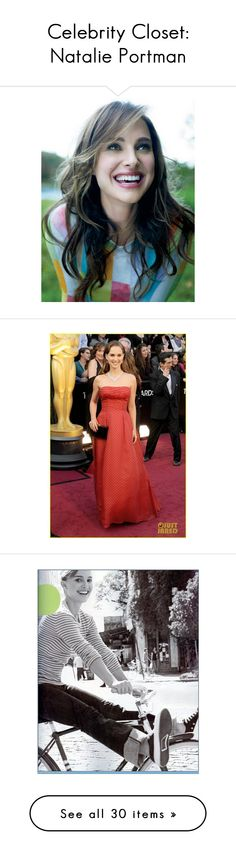 """""""Celebrity Closet: Natalie Portman"""" by polyvore-editorial ❤ liked on Polyvore featuring people, natalie portman, models, backgrounds, celebrities, faces, photos, pictures, celebs and text"""